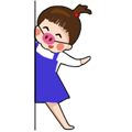 littleGirl-Sticker messages sticker-4