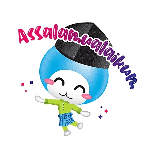 Little AIAI Robot messages sticker-0