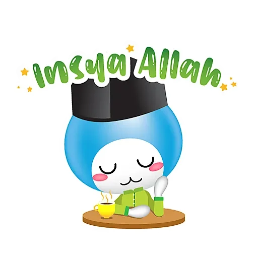 Little AIAI Robot messages sticker-7