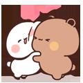 Cool Bear messages sticker-3
