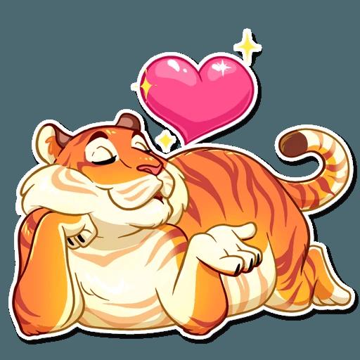 Amur Tiger Stickers messages sticker-1