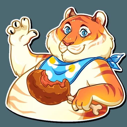 Amur Tiger Stickers messages sticker-4