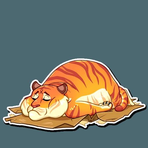 Amur Tiger Stickers messages sticker-8