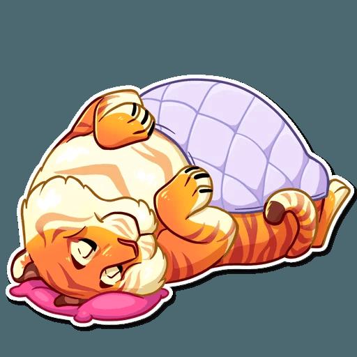 Amur Tiger Stickers messages sticker-11