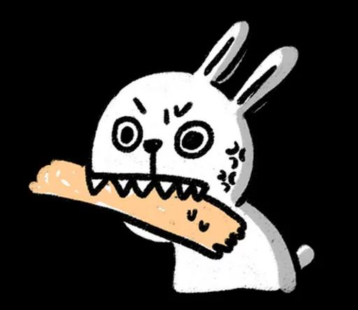 DIYRabbit messages sticker-11