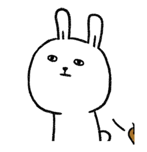DIYRabbit messages sticker-3