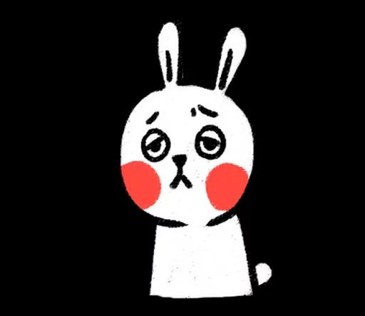 DIYRabbit messages sticker-4