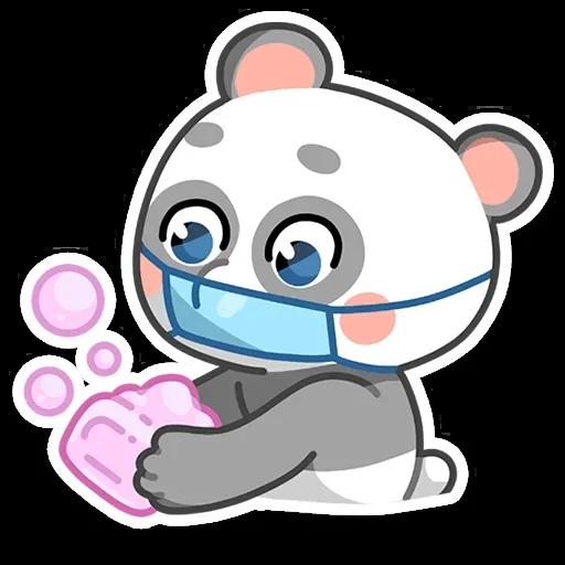 Sick bear messages sticker-9