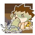 CaveBoy-Sticker messages sticker-10