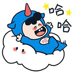 萌萌卡通壁纸 messages sticker-0