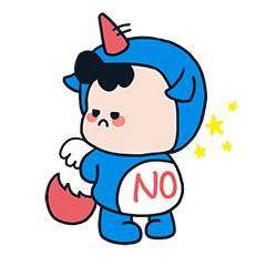 萌萌卡通壁纸 messages sticker-1