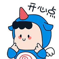 萌萌卡通壁纸 messages sticker-3