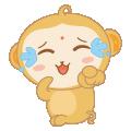 Xiao Goku messages sticker-5