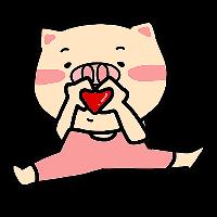 Pink Pig Girl messages sticker-8