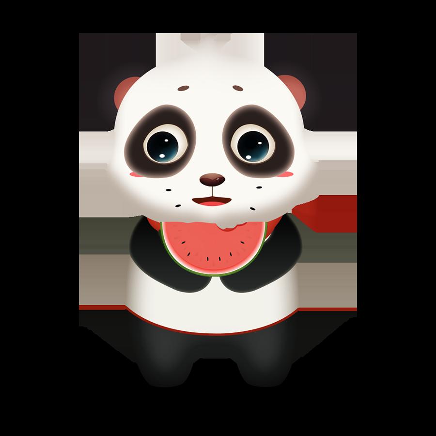Panda Cute - Photos messages sticker-4
