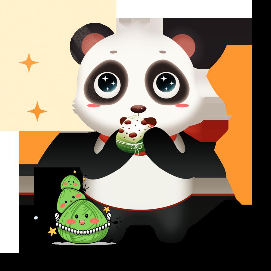 Panda Cute - Photos messages sticker-1