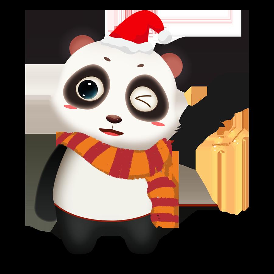 Panda Cute - Photos messages sticker-7