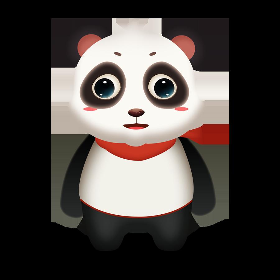 Panda Cute - Photos messages sticker-0