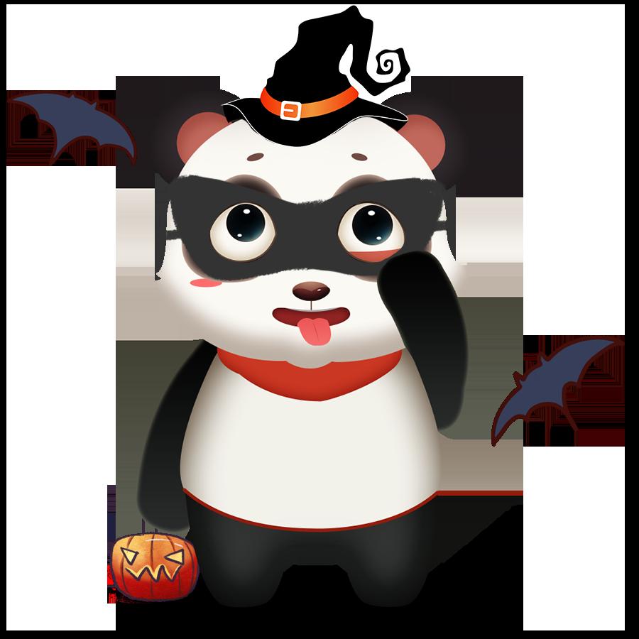 Panda Cute - Photos messages sticker-8