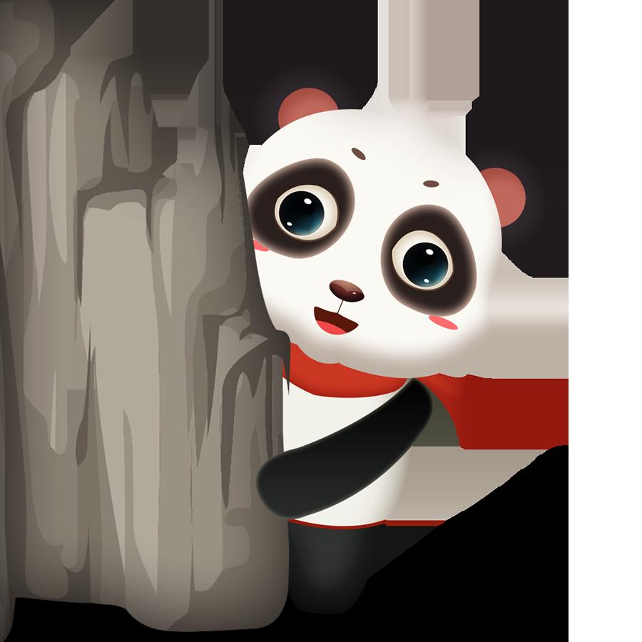 Panda Cute - Photos messages sticker-6
