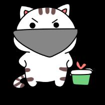 小猫真可爱-小喵贴图 messages sticker-2