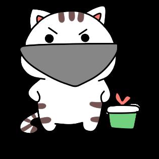 小猫真可爱-小喵贴图 messages sticker-3