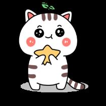 小猫真可爱-小喵贴图 messages sticker-4