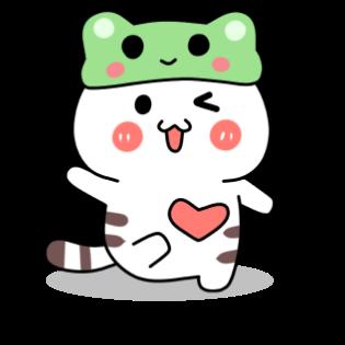 小猫真可爱-小喵贴图 messages sticker-11