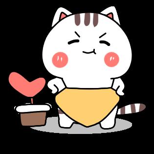 小猫真可爱-小喵贴图 messages sticker-9