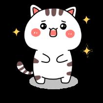 小猫真可爱-小喵贴图 messages sticker-0