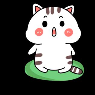小猫真可爱-小喵贴图 messages sticker-7