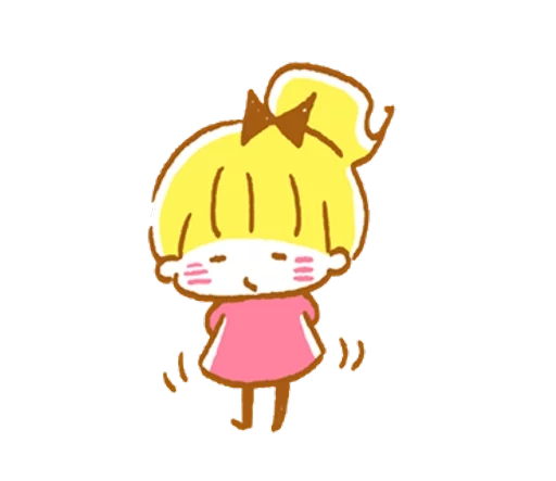 YellowHairGirl messages sticker-5