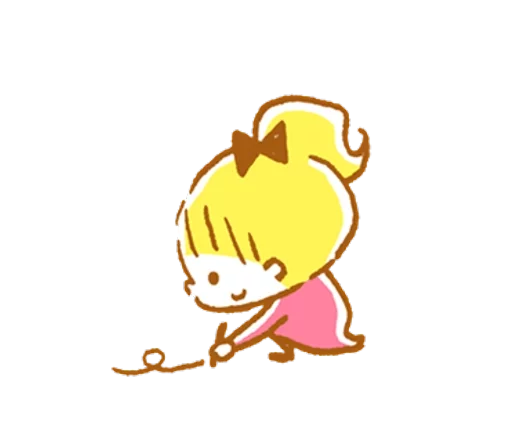 YellowHairGirl messages sticker-10