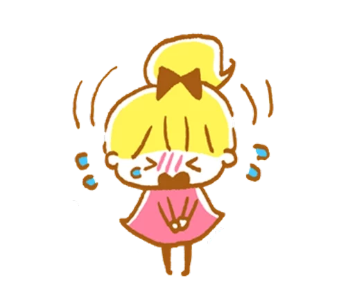 YellowHairGirl messages sticker-11
