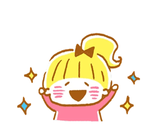 YellowHairGirl messages sticker-4