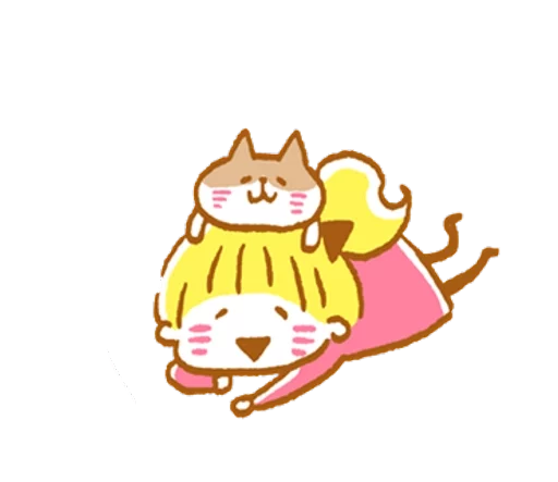 YellowHairGirl messages sticker-7