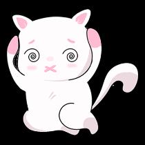 甜美可爱小猫表情——短信聊天表情包 messages sticker-8