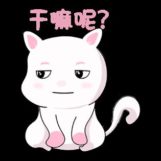 甜美可爱小猫表情——短信聊天表情包 messages sticker-1