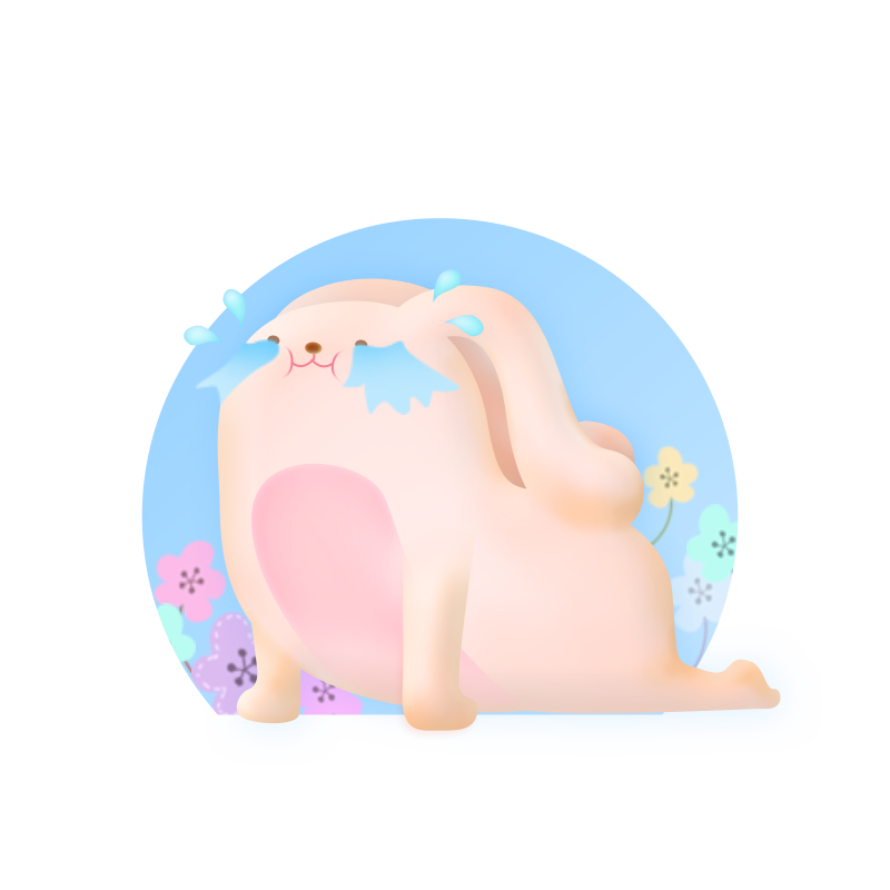 Rabbit Pink messages sticker-6