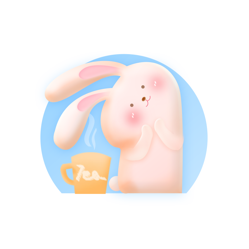 Rabbit Pink messages sticker-4