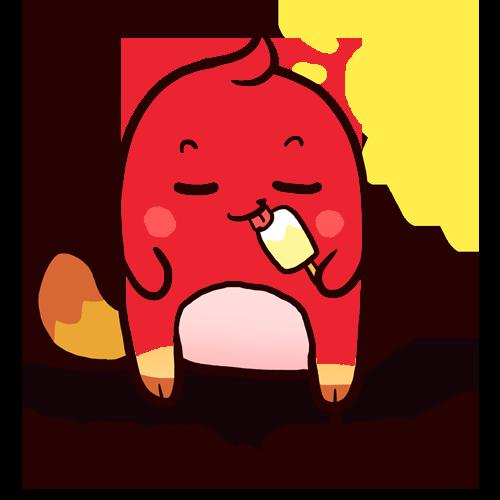 洋柿子 messages sticker-2