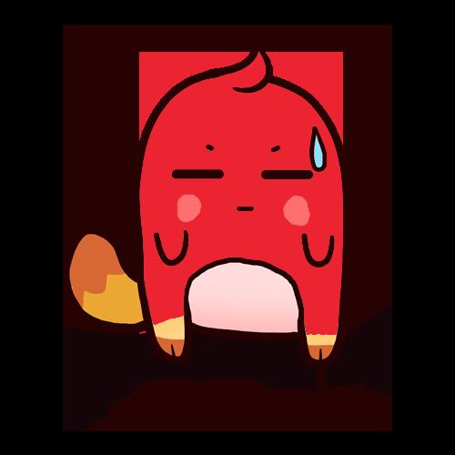 洋柿子 messages sticker-9