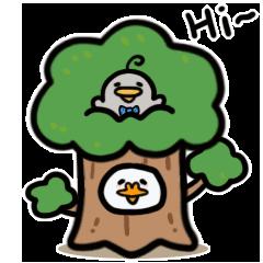 Funny Duck Wallpaper messages sticker-3