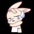 Iron Shield Rabbit messages sticker-4