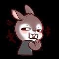 Iron Shield Rabbit messages sticker-9