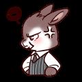Iron Shield Rabbit messages sticker-3