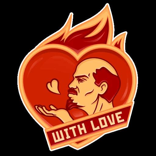 Vladimir Lenin Stickers messages sticker-5