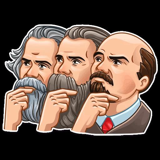 Vladimir Lenin Stickers messages sticker-7