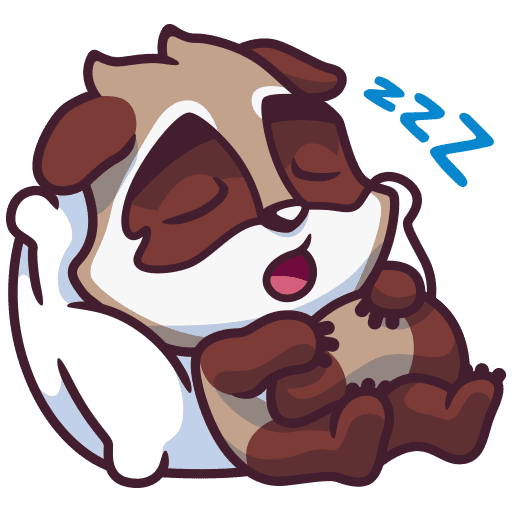 Amiable Ralph messages sticker-1
