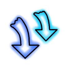 StylishNeonCuteMark messages sticker-8